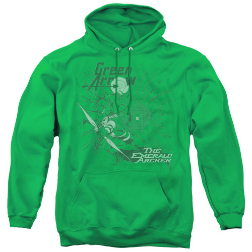 Image for Green Arrow the Emerald Archer Hoodie
