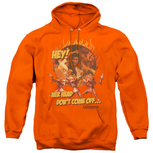 Image for Labyrinth Hoodie - Hey! Her Head Don't Come Off...