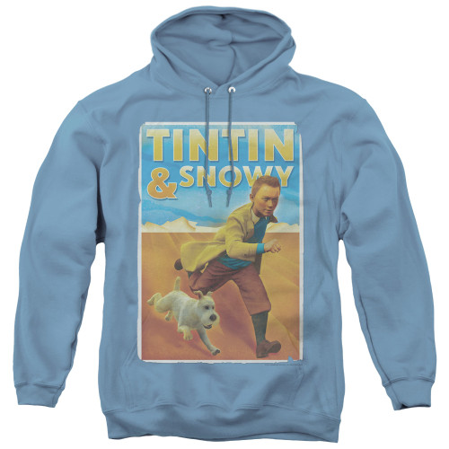 Image for The Adventures of Tintin Tintin & Snowy Hoodie