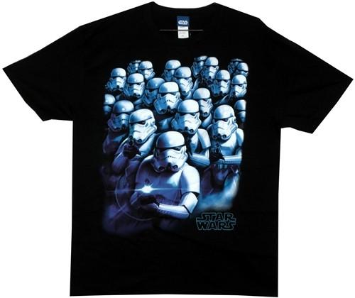 Image for Star Wars T-Shirt - Cool Blue Stormtrooper