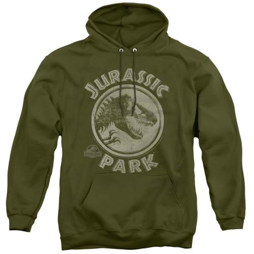 Image for Jurassic Park Hoodie - Jurassic Park Stamp