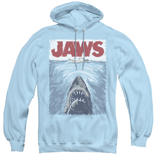 Image for Jaws Hoodie - Graphic Poster