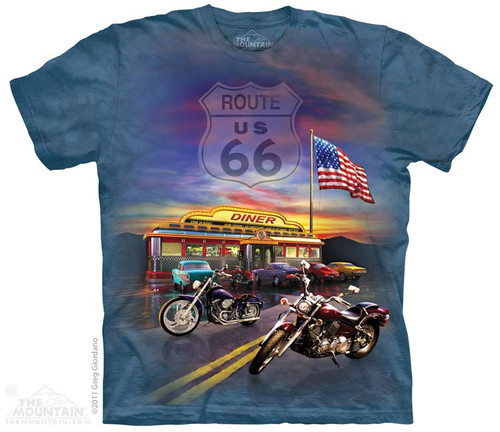 Image for The Mountain T-Shirt - Route 66