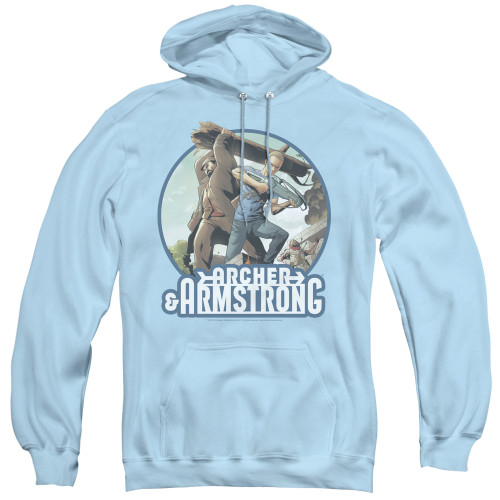 Image for Archer & Armstrong Hoodie - Trunk and Crossbow