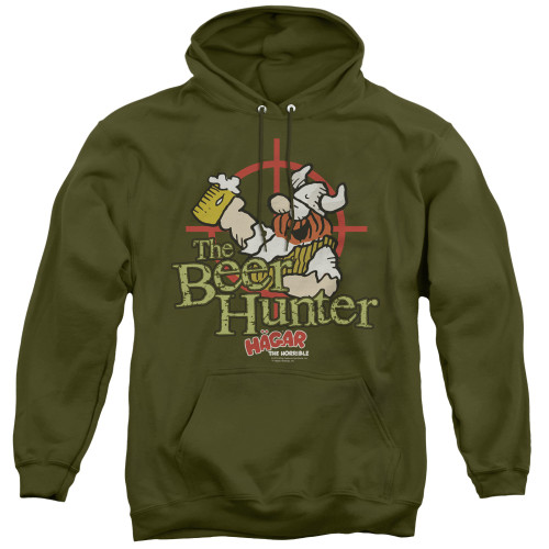 Image for Hagar The Horrible Hoodie - Beer Hunter