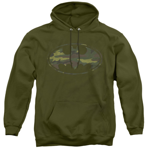 Image for Batman Hoodie - Distressed Camo Shield