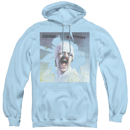 Image for Scorpions Hoodie - Light blueout