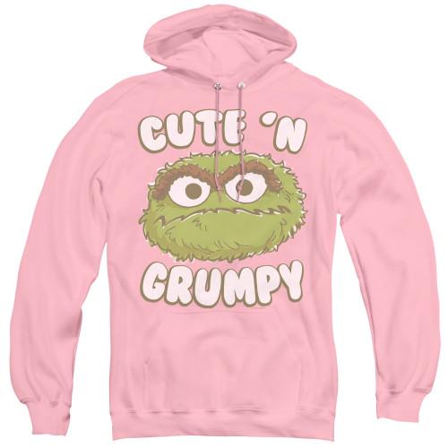 Image for Sesame Street Hoodie - Oscar Cute 'n Grumpy
