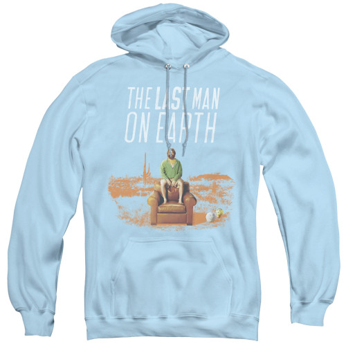 Image for Last Man on Earth Hoodie - Phil on Chair