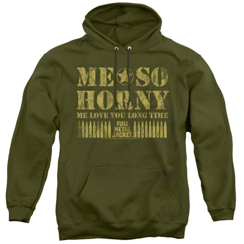 Image for Full Metal Jacket Hoodie - Love You Long Time