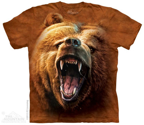 Image for The Mountain T-Shirt - Grizzly Growl