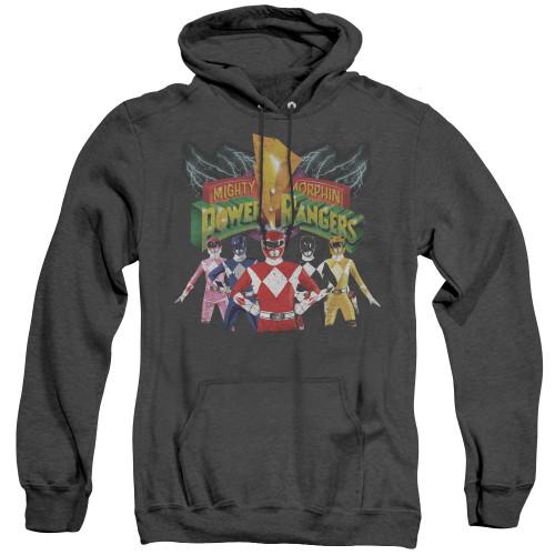 Image for Power Rangers Heather Hoodie - Rangers Unite