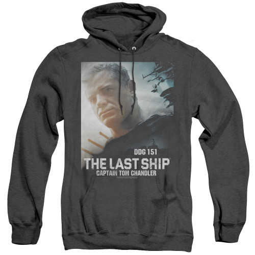 Image for The Last Ship Heather Hoodie - Captain
