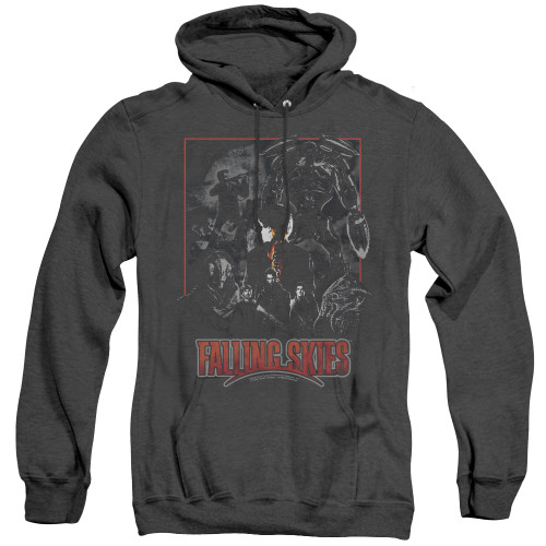 Image for Falling Skies Heather Hoodie - Collage