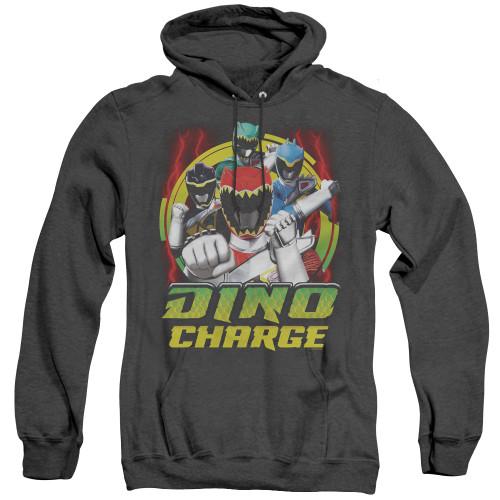 Image for Power Rangers Dino Charge Heather Hoodie - Dino Lightning