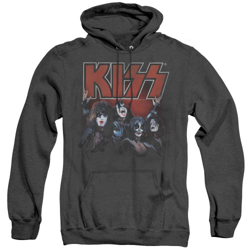 Image for Kiss Heather Hoodie - Kings of Rock