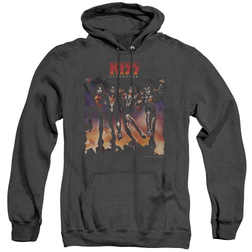 Image for Kiss Heather Hoodie - Destroyer Cover