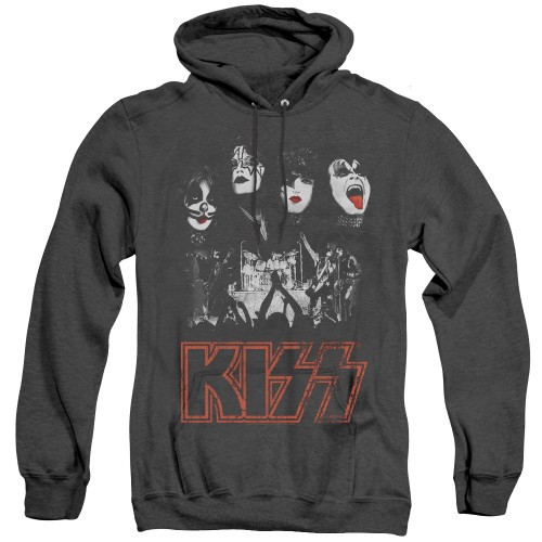 Image for Kiss Heather Hoodie - Rock the House