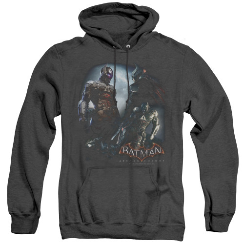 Image for Batman Arkham Knight Heather Hoodie - Face Off