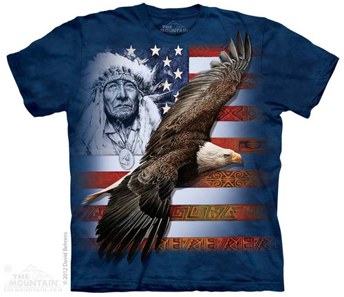 Image for The Mountain T-Shirt - Spirit of America
