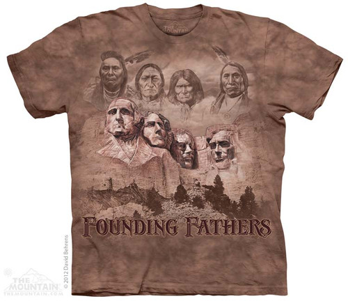 Image for The Mountain T-Shirt - The Founders