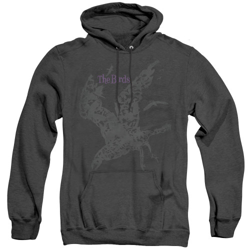 Image for The Birds Heather Hoodie - Poster