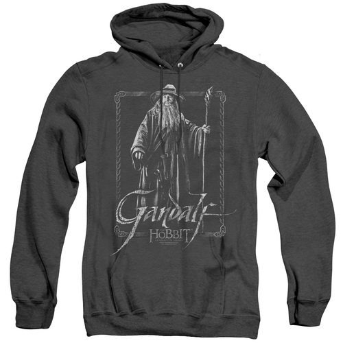 Image for The Hobbit Heather Hoodie - Gandalf Stare