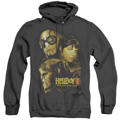 Image for Hellboy II Heather Hoodie - Ungodly Creatures