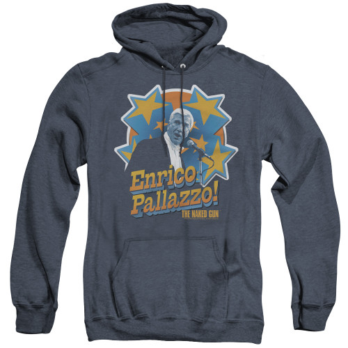 Image for Naked Gun Heather Hoodie - It's Enrico Pallazzo