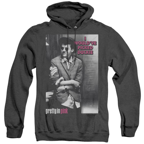Image for Pretty in Pink Heather Hoodie - I Would've