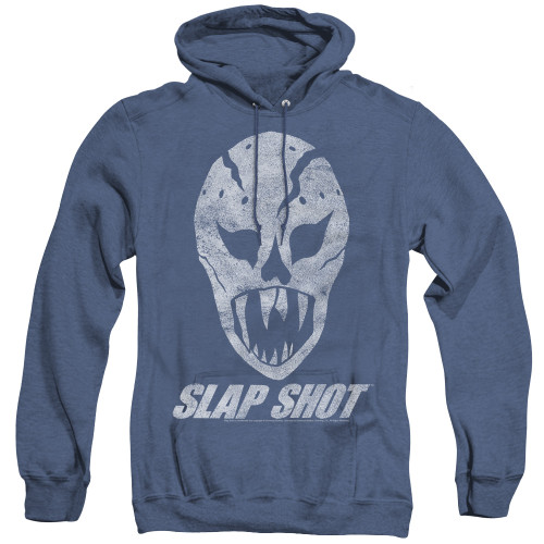 Image for Slap Shot Heather Hoodie - The Mask