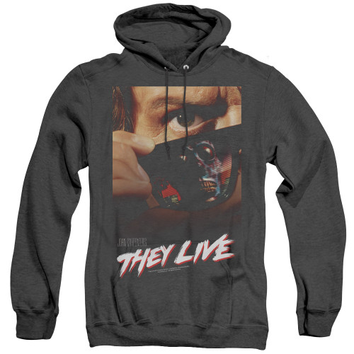 Image for They Live Heather Hoodie - Poster