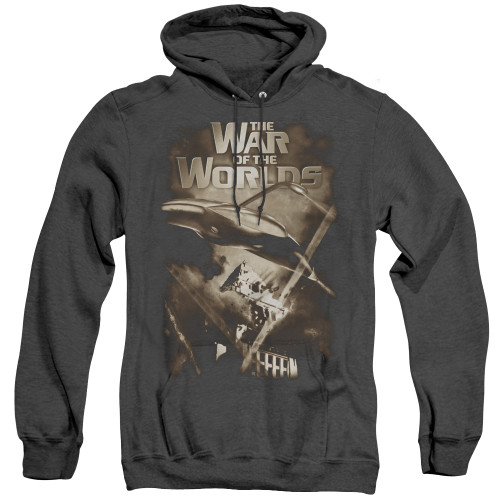 Image for War of the Worlds Heather Hoodie - Death Rays