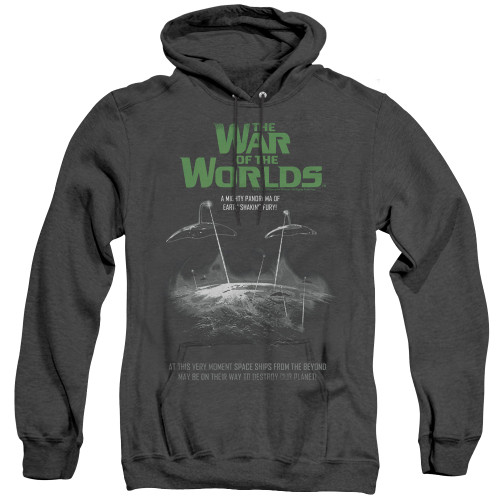 Image for War of the Worlds Heather Hoodie - Attack Poster