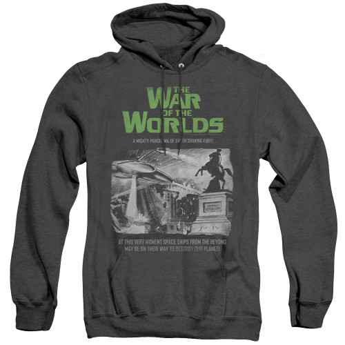 Image for War of the Worlds Heather Hoodie - Attack People Poster