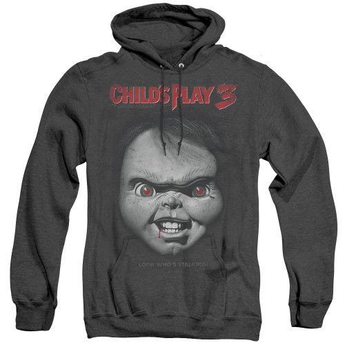 Image for Child's Play Heather Hoodie - Face Poster