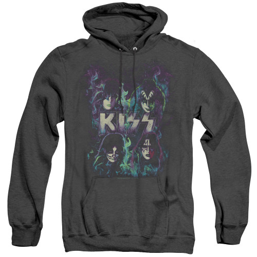 Image for Kiss Heather Hoodie - Colorful Fire