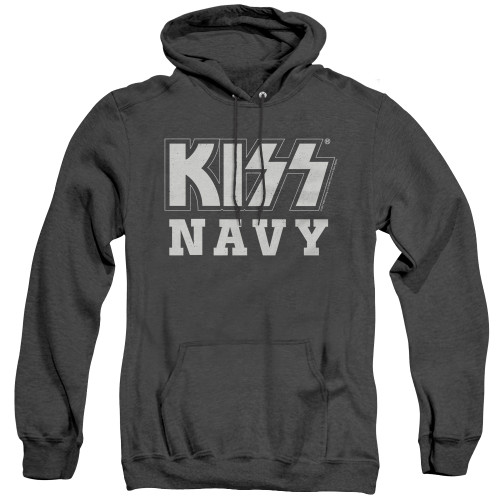Image for Kiss Heather Hoodie - Navy Block