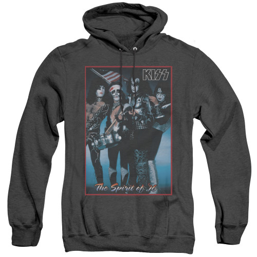 Image for Kiss Heather Hoodie - Spirit of '76