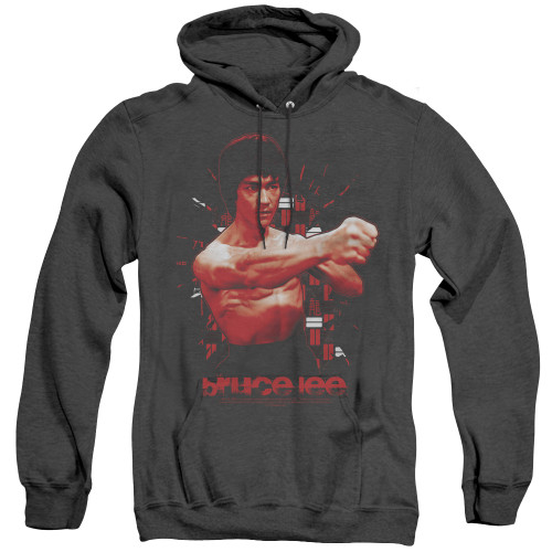 Image for Bruce Lee Heather Hoodie - the Shattering Fist