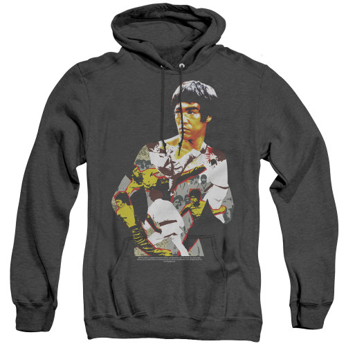 Image for Bruce Lee Heather Hoodie - Body of Action