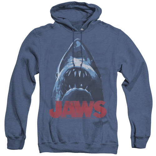 Image for Jaws Heather Hoodie - From Below