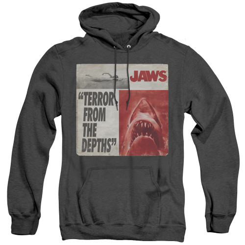 Image for Jaws Heather Hoodie - Terror