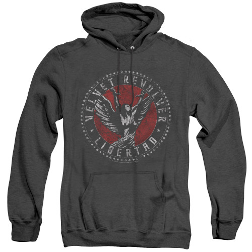 Image for Velvet Revolver Heather Hoodie - Circle Logo