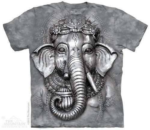 Image for The Mountain T-Shirt - Big Face Ganesh