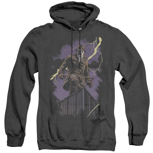 Image for The Watchmen Heather Hoodie - Rorschach Night