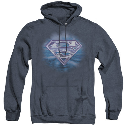 Image for Superman Heather Hoodie - Freedom Of Flight