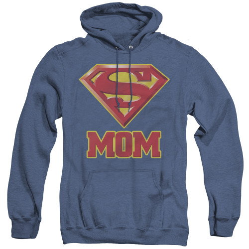 Image for Superman Heather Hoodie - Super Mom