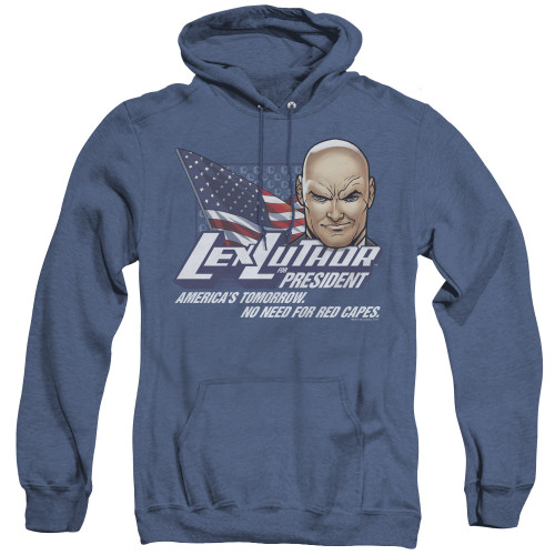 Image for Superman Heather Hoodie - Lex For President