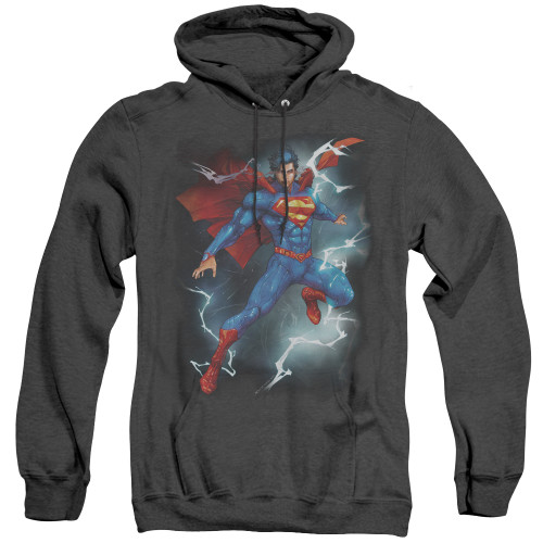 Image for Superman Heather Hoodie - Annual #1 Cover